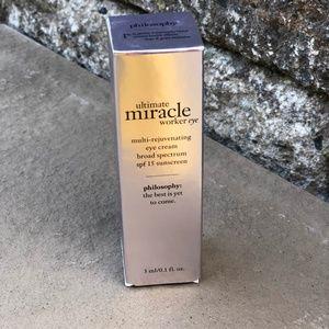 Philosophy Miracle Worker Eye Cream .1oz